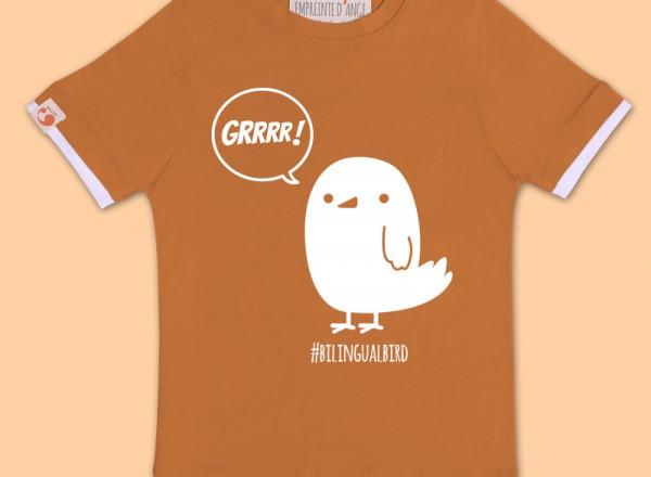 T-SHIRT-brun-bird